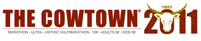 The Cowtown Marathon, Half Marathon, & Ultra