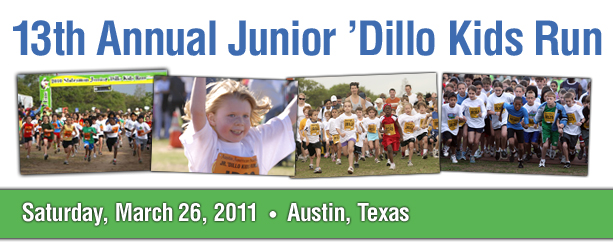 13th Annual Junior Dillo Kids Run