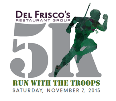 Del Frisco's Run with the Troops 5K
