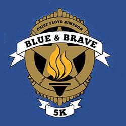 Chief Floyd Simpson Brave & Blue Run