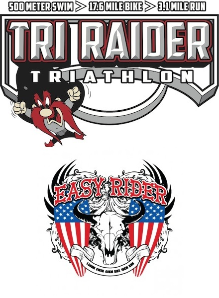 Tri Raider Sprint and Easy Rider Intermediate Triathlons