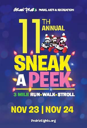 Sneak a Peek 5K Saturday