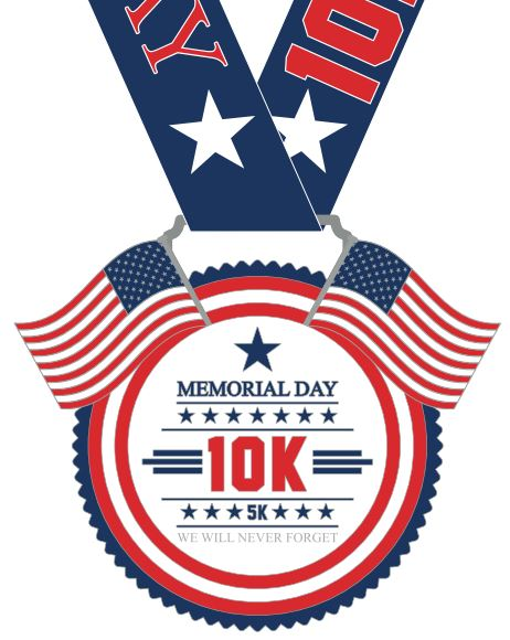 Memorial Day 10K & 5K - Virtual Run